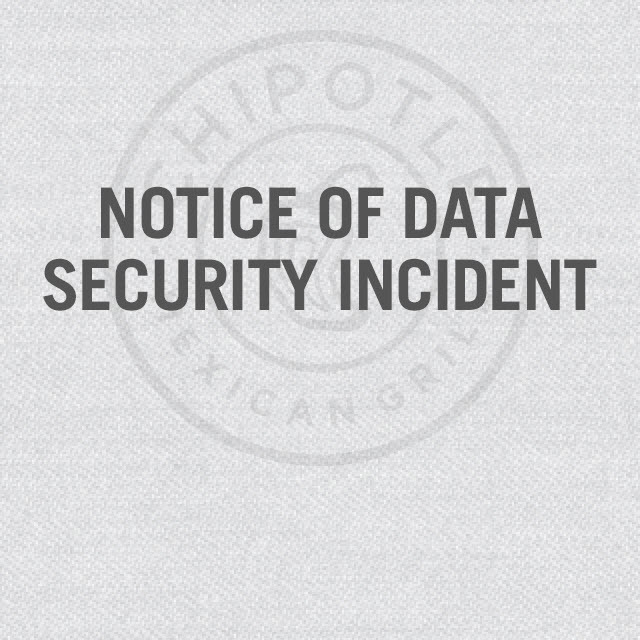 Chipotle Credit Card Breach