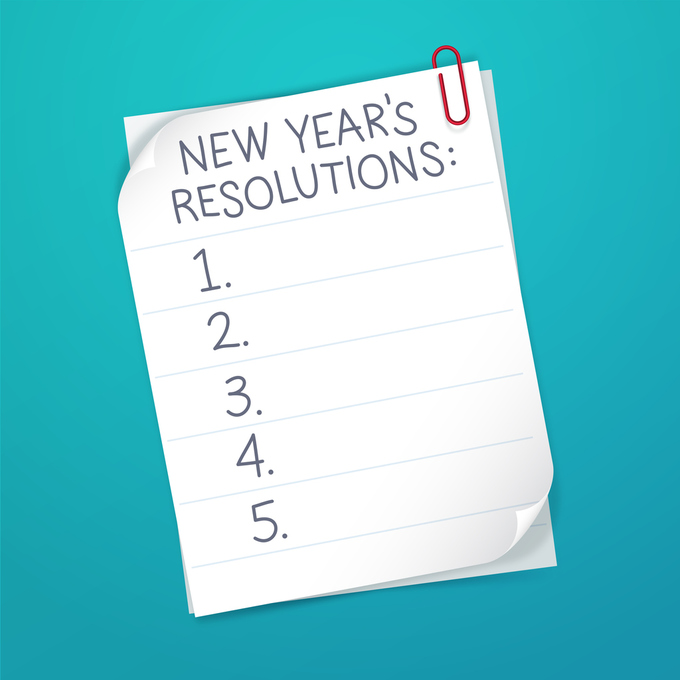 New Years Finance Resolutions